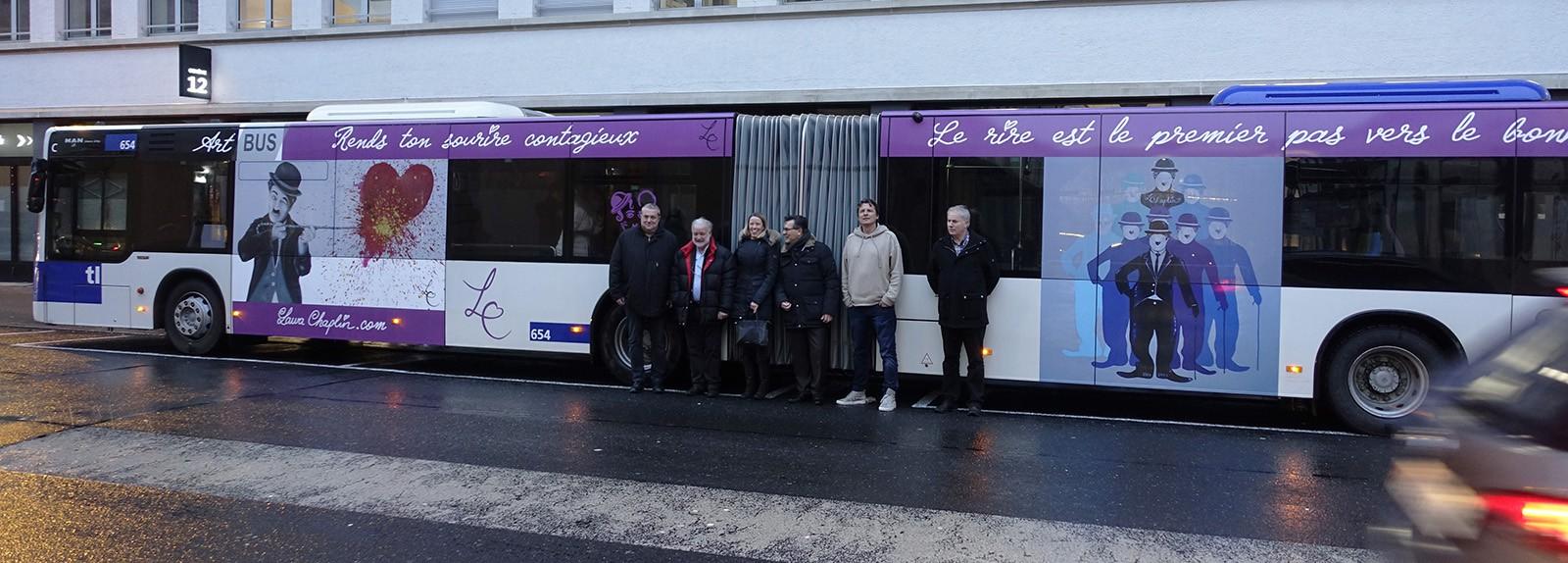 *Smart Art Bus* Lausanne